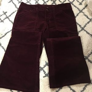 Abercrombie and Fitch Corduroy bell bottom pants